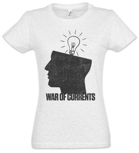 Urban Backwoods War Of Currents Damen T-Shirt, Größe:S