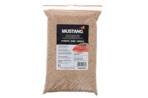 Grillpaul Mustang Räuchermehl | Räucherspäne Buche | Körnung 0,4 -1 mm | Räucherchips | 3 Liter Sack | 900g