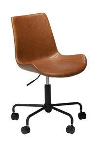 Design Bürostuhl Hype Kunstleder braun Drehstuhl Schreibtischstuhl Büro Stuhl