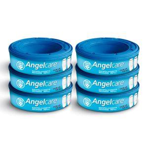 Angelcare Nachfüllkassetten Plus, 6er-Pack