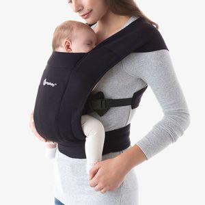 Ergobaby Embrace Neugeborenen Babytrage - Pure Black*