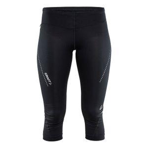 Craft Damen Capri-Leggings Essential RW6292 (XL) (Schwarz)