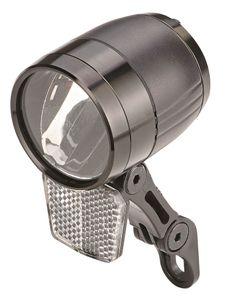 Prophete_LED-Scheinwerfer, 100 Lux, Sensorautomatik, Standlicht, Ein-/Ausschalter, Aluminiumgehäuse, mit abnehmbarem Reflektor, für Nabendynamo und für E-Bikes mit Stromversorgung aus dem Akku_6081
