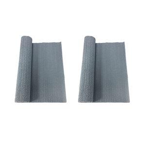 2pcs 30x150cm Einlegematte Schubladeneinlage Schutzmatte Antischrutschmatte