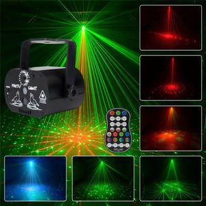 USB-Anschluss Mini tragbare Fernbedienung Bühne Laserlicht DJ KTV Party