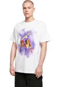 Mister Tee T-Shirt Basketball Clouds 2.0 Oversize Tee White-L