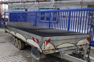 Abdecknetz 2,5m x 4m Anhängernetz Transportnetz zur Ladungssicherung
