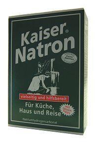 Holste Kaiser Natron Pulver 250g für Küche, Haus und Reise