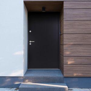 Hochwertigen Haustür / Tür Aluminium Anthrazit 100x200 cm