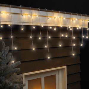 LED Lichterkette Eiszapfen 490 LEDs 8 Funktionen 20 m IP44