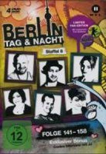 Berlin-Tag & Nacht-Staffel 8,Folge 141-158-Limited