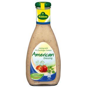 Kühne American Salat Dressing cremig mild mit fruchtiger Tomate 500ml