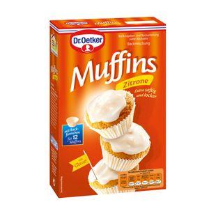 Dr. Oetker Zitronen Muffins Neue Rezeptur extra saftig und locker 415g