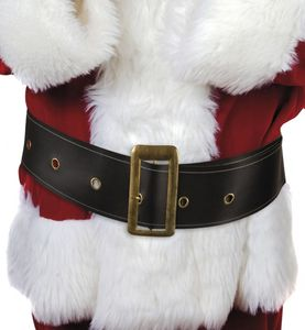 Boland weihnachtsmann Gürtel 150 cm schwarz