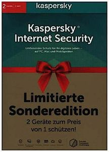 Kaspersky Internet Security 2020 Limited Ed. 2 Geräte