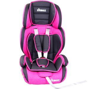 Kidimax Autokindersitz Autositz Kinderautositz 9-36 kg 1+2+3 ECE, Pink