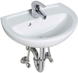 Ceravid Mrclever Handwaschbecken 45cm inkl. Armatur im Set,, Ceravid C07046000