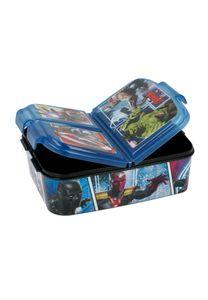 Marvel Avengers Kinder Premium Brotdose Lunchbox Frühstücks-Box Vesper-Dose mit 3 Fächern