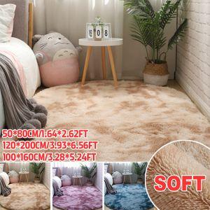 Hochflor Teppich 160x230 cm Langflor Shaggy Teppiche für Wohnzimmer flauschig Bettvorleger Schlafzimmer Outdoor 120*200cm