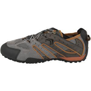 GEOX Snake Herren Low Sneaker Beige Schuhe, Größe:41