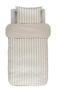 Marc O ' Polo Satin Bettwäsche Classic Stripe  , GRÖßENAUSWAHL:155x220 cm + 80x80 cm