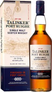 Talisker Port Ruighe Finished in Port Casks Isle of Skye Single Malt Scotch Whisky in Geschenkpackung | 45,8 % vol | 0,7 l