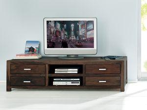 SIT Möbel Sideboad aus Sheesham | B 85 x T 49 x H 55 cm | natur | 01521-30|Serie WIAM