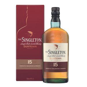 The Singleton of Dufftown 15 Jahre Single Malt Scotch Whisky in Geschenkpackung | 40 % vol | 0,7 l