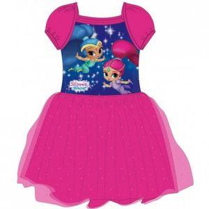 Shimmer & Shine Kleid in leuchtenden Farben mit Tüll 110/116