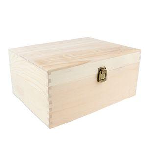 38 Slots Holz ätherisches Öl Aufbewahrungskoffer Box Aromatherapie