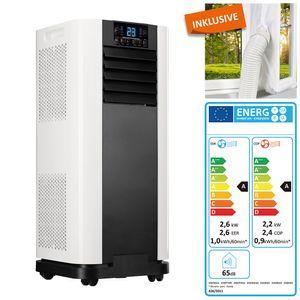 Home Deluxe 4in1 Mobile Klimaanlage Klimagerät mit Fensterabdichtung + Timer