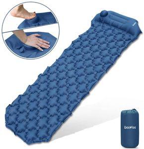 Isomatte Camping, Ultraleichte Luftmatratze Schlafmatte Eingebaute Presspumpe
