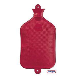 Wärmflasche 3,0 l Größe 4 rot