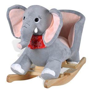 vidaXL Schaukeltier Elefant