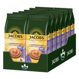 JACOBS Typ Cappuccino Choco Vanille mit Milka 12 x 500 g Beutel