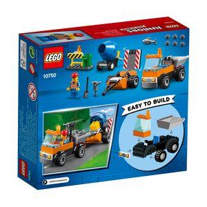 LEGO® Juniors Straßenbau-Laster 10750
