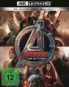 Avengers: Age of Ultron (UHD+BR) 2Disc Min: 146DD5.1WS  4K Ultra