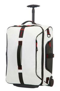 Samsonite Paradiver Light Duffle/WH 55/20 Backpack White 747801908 Reisetasche mit Rollen Weichgepäck