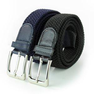 SK elastische Gürtel - Stretch Geflochtene - 2 Stück 120 CM.