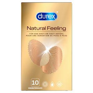 Durex Natural Feeling latexfreie Kondome Präservative Verhütungsmittel 10 Stück