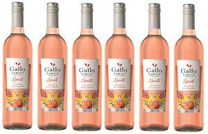 Gallo Spritz Pfirsich und Necktarine Weincocktail Rosé 6 x 0,75l
