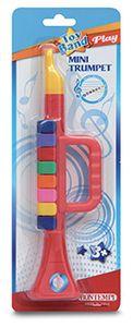Mini Trompete mit 8 Tasten, Blasinstrument, Musikspielzeug