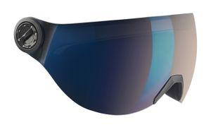 BLACK CREVICE Ersatzvisier für Skihelm Arlberg, Saalbach, Gstaad und Silvretta | Farbe: Blau