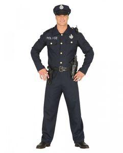 Police Officer Kostüm für Fasching, Motto Party und Halloween Größe: M