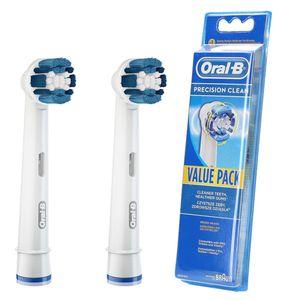 2x Aufsteckbürsten Ersatzbürsten ORAL-B Professional Care 700 (Precision Clean)