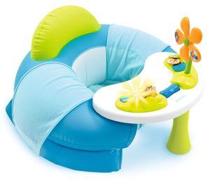 Smoby Cotoons Baby Sitz mit Activity-Tisch, blau,110210