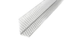 Fassadenprofile Lüftungswinkel Alu Fassaden Lüftungsprofil Länge 2m Silber 30x50mm, 20 Stück