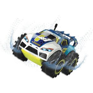Dickie Toys RC Amphy Rider 201119132. RTR. Ferngesteuertes Amphilienfahrzeug. Allradantrieb und 360° Drehung. Geschwindigkeit bis zu 6 km/h. Ab 6 Jahren.