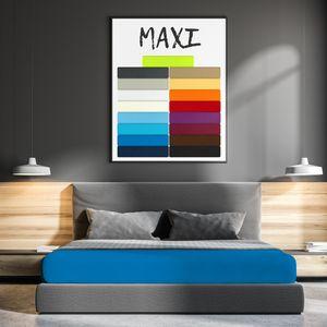 Mikrofaser Serie Maxi Royalblau 120 x 200 cm
