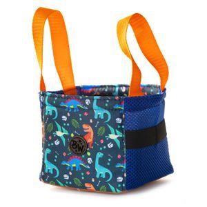 BAMBINIWELT Musikbox-Tasche Transporttasche Tasche für Hörwürfel z.B. Toniebox und Tigerbox Touch Halterung für Tonies KLEIN Modell 16